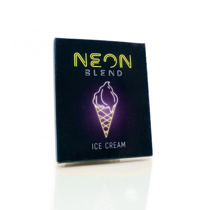 Бестабачная смесь Неон Ванильное мороженое ( Neon ICE CREAM)
