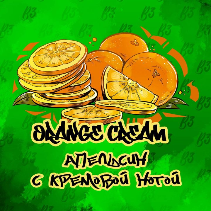 Табак B3 Tоbacco Orange Cream 50г (Б3 Апельсин с кремовой нотой  )