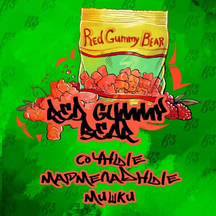 Табак B3 Tobacco Red Gummy Bear 50г ( Б3 ред гумми бир )