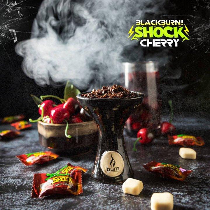 Табак BlackBurn Cherry SHOCK 100г (Табак Блек Берн Вишня )