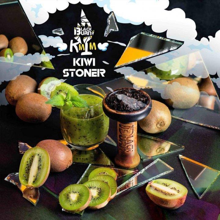 Табак BlackBurn KiwiStoner 100г (Табак Блек Берн Киви смузи )