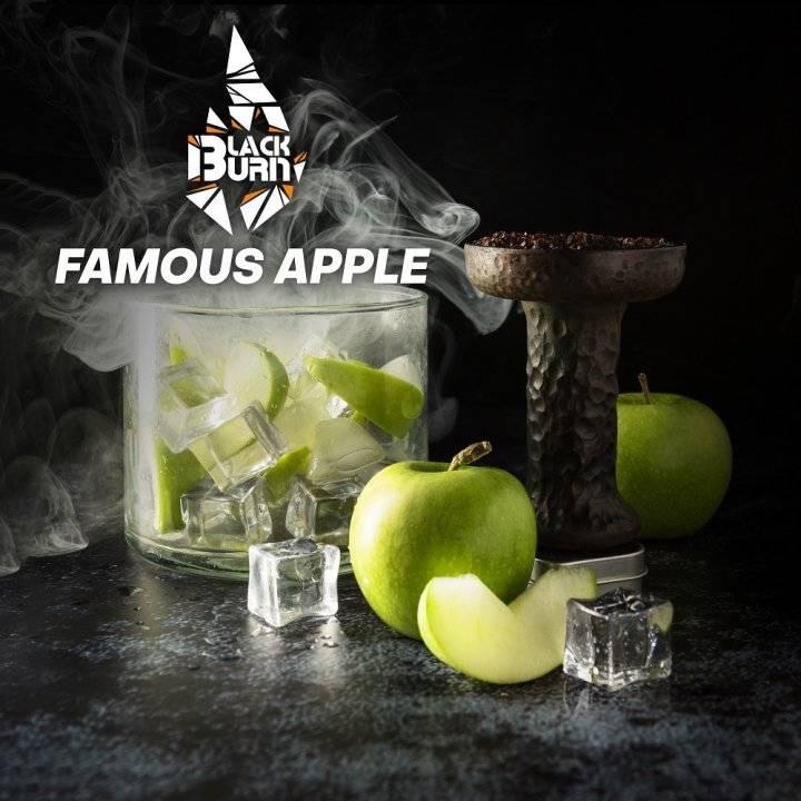 Табак BlackBurn Famous apple 20г (Табак Блек Берн Прохладное яблоко )