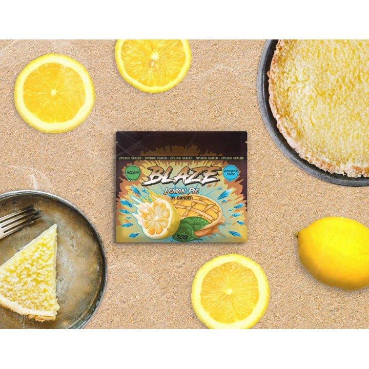 Бестабачная смесь BLAZE   Lemon Pie 50г (Бестабачная смесь Блэйз  Лимонный пирог )