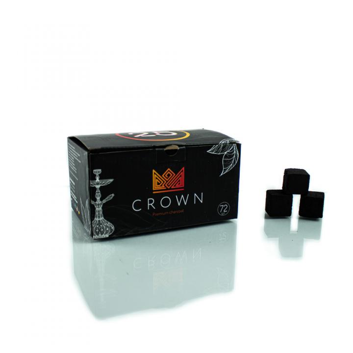Уголь Краун (CROWN) 72 шт 25 мм