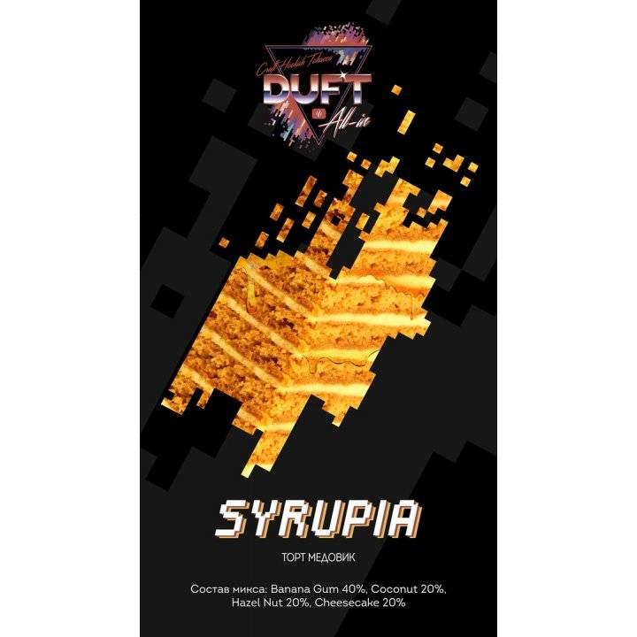 Табак Duft All-in – SYRUPIA 25 г (Табак Дафт Торт медовик  )