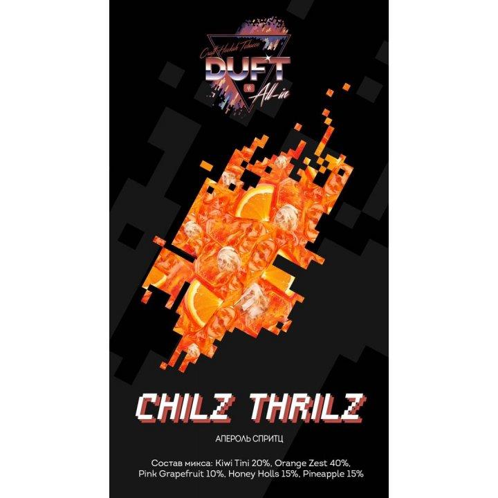 Табак Duft All-in – CHILZ THRILZ 25 г (Табак Дафт Апероль спритц)
