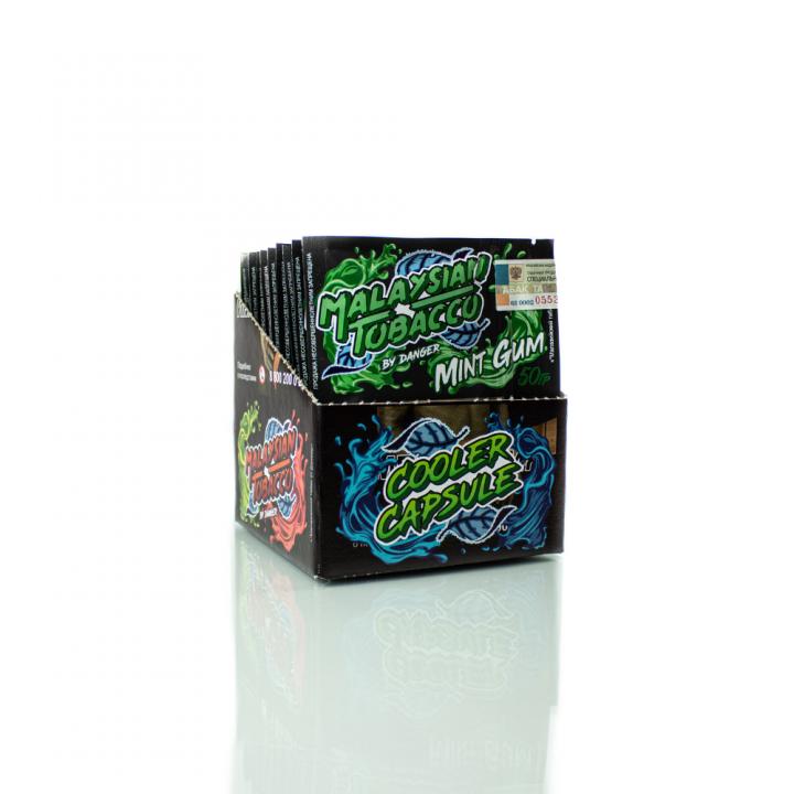 Табак Malaysian Tobacco Mint gum 50г (Малазиан сладкая мятная жвачка)