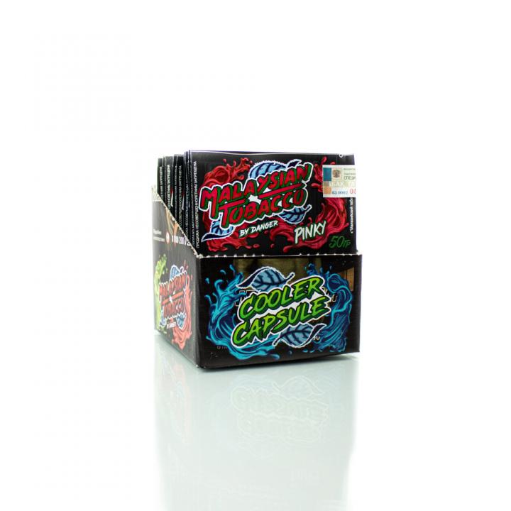 Табак Malaysian Tobacco Pinky 50г (Малазианнежная, сладкая малина)
