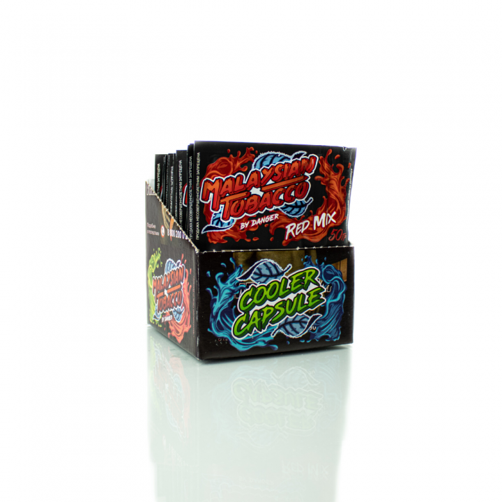 Табак Malaysian Tobacco Red mix 50г (Малазиан сочный грейпфрут с горчинкой )