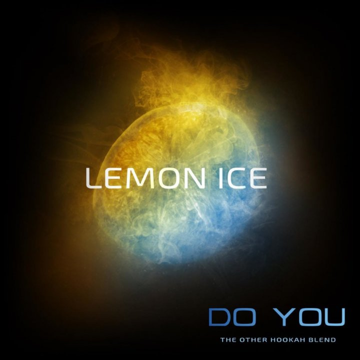 Бестабачная смесь Do You Lemon Ice 50г (Бестабачная смесь Ду ю Ледяной Лимон)