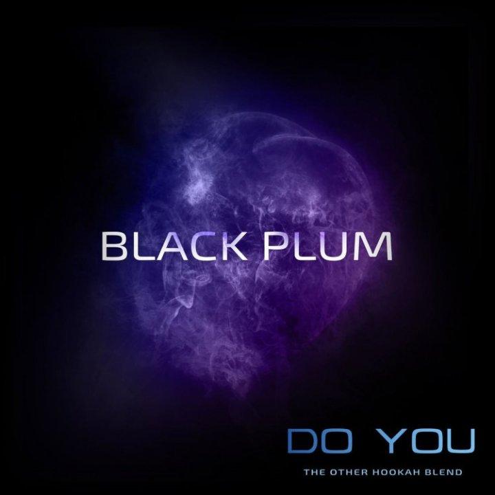 Бестабачная смесь Do You Black Plum 50г (Бестабачная смесь Ду ю Сливовое варенье )