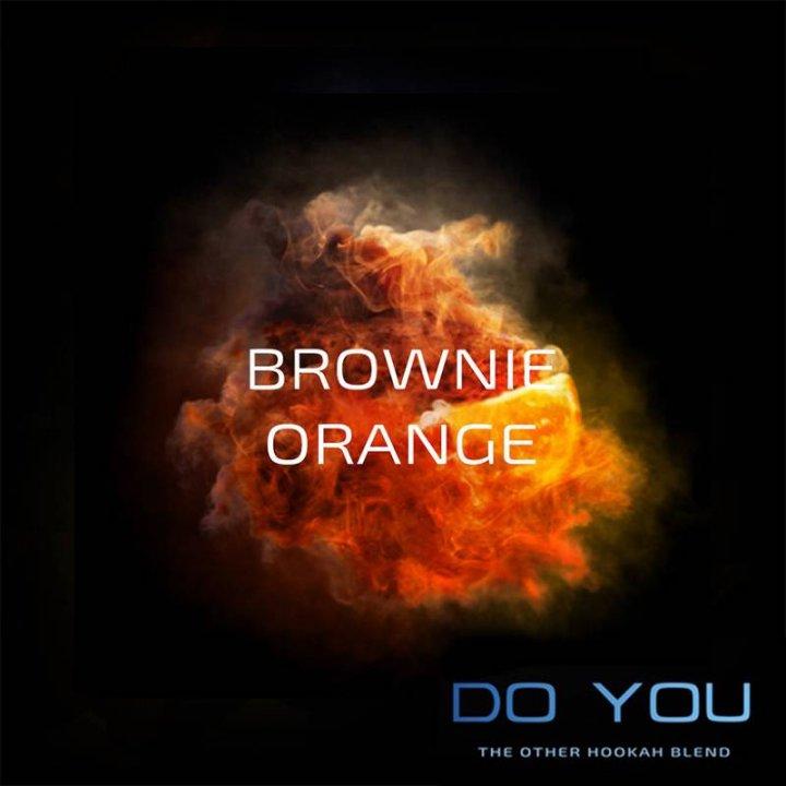 Бестабачная смесь Do You Brownie Orange 50г (Бестабачная смесь Ду ю Апельсин )