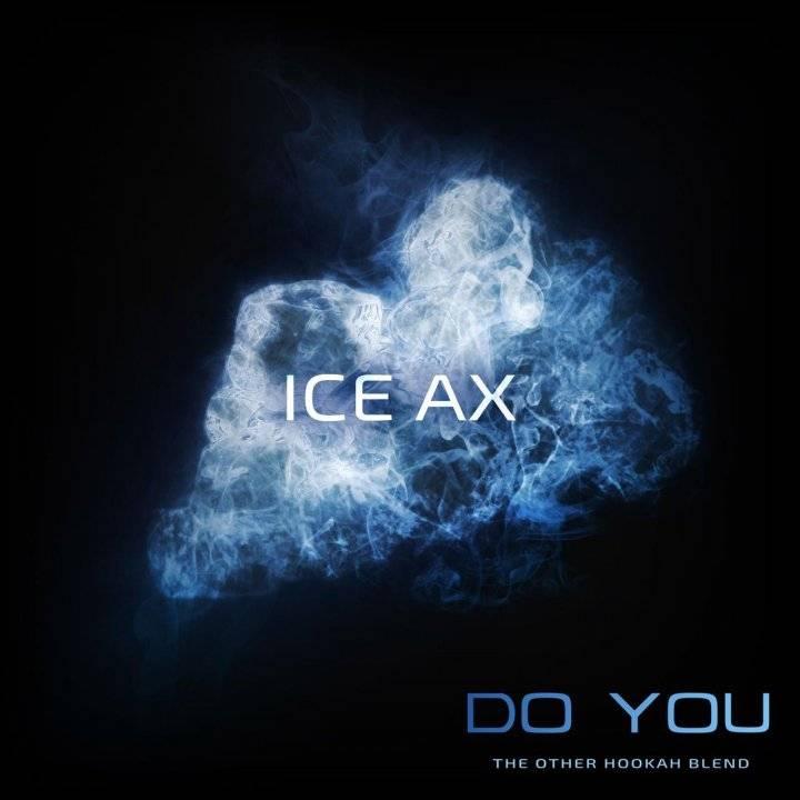 Бестабачная смесь Do You Ice Ax 50г (Бестабачная смесь Ду ю Ледяная Мятная Жвачка )