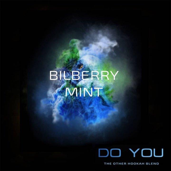 Бестабачная смесь Do You Bilberry Mint 50г (Бестабачная смесь Ду ю Черника с Мятой)