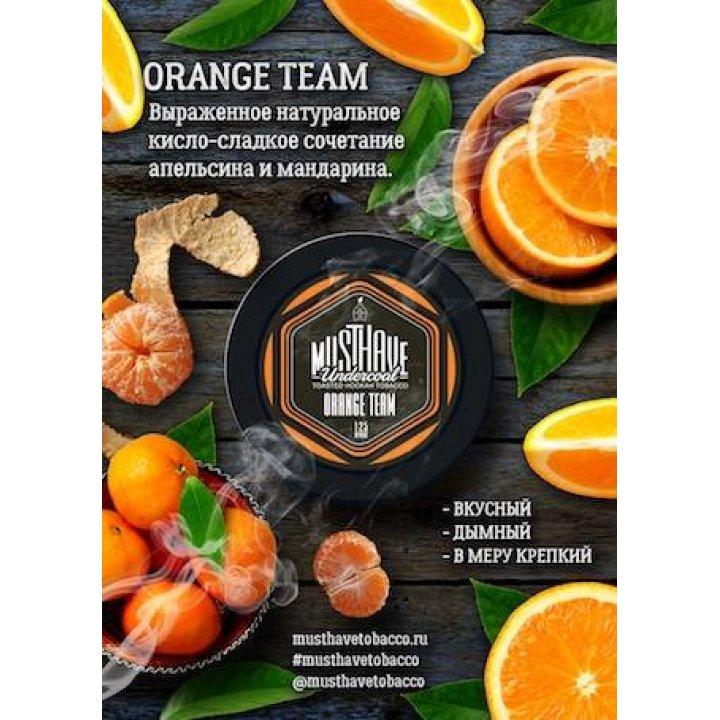 Табак  Must Have Orange Team 25 гр (Мастхев Апельсин Мандарин)