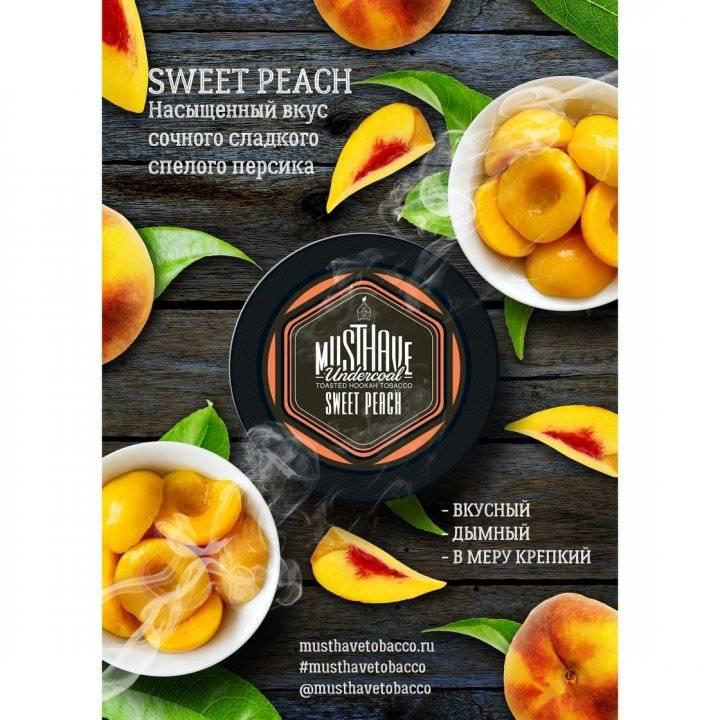 Табак Must Have Sweet Peach 25 гр (Мастхев Сладкий Персик)