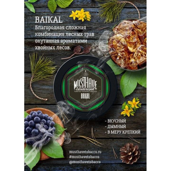 Табак Must Have Baikal 25 гр (Мастхев Байкал )