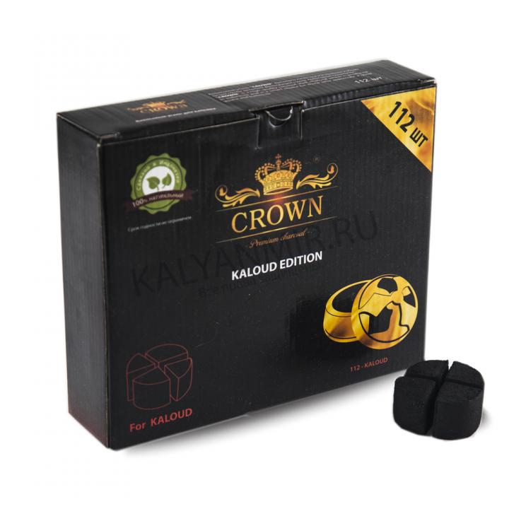 Уголь Краун для калауда БРИКЕТ 28 шт (CROWN)