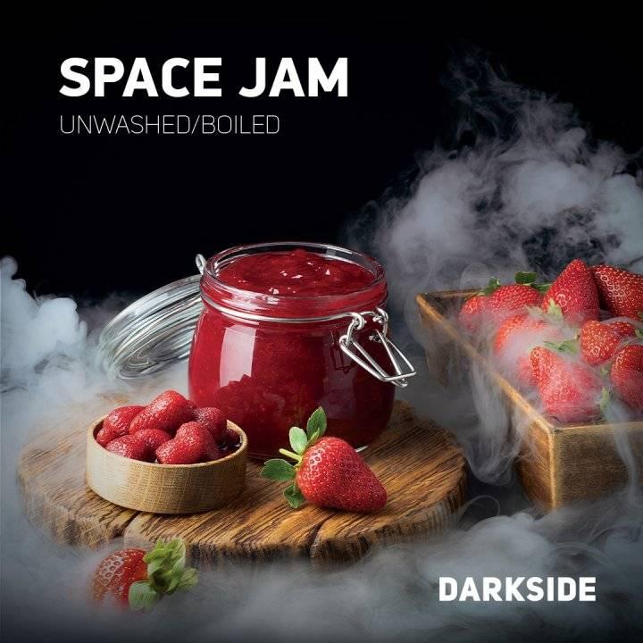 Табак Dark Side Space Jam Core 100 гр (Дарк Сайд Клубничный сироп )