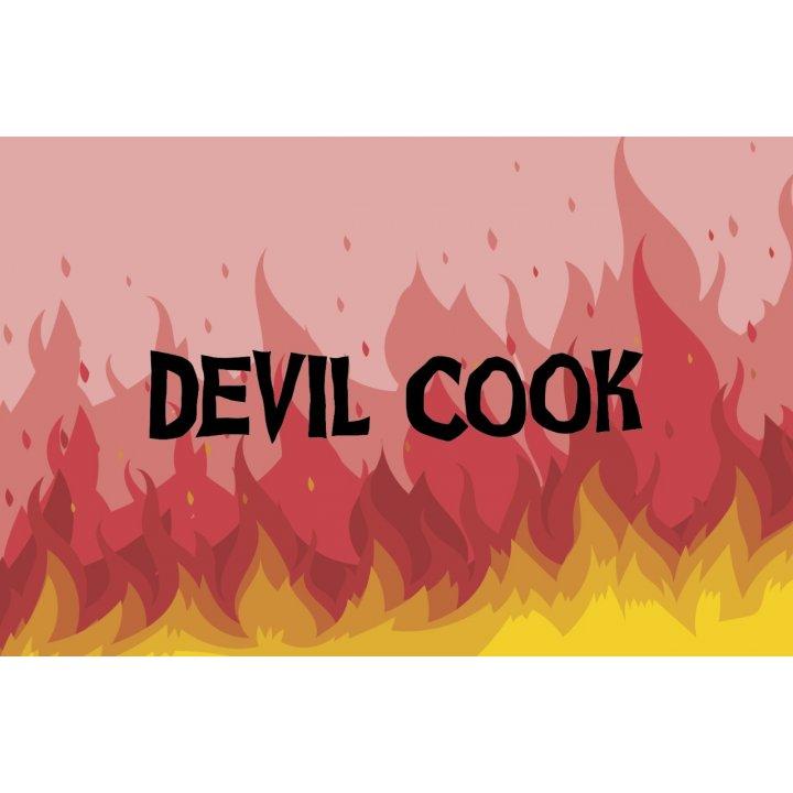 Табак Devil Cook Апельсин, лимон и вишня 50 г (Дэвил кук)