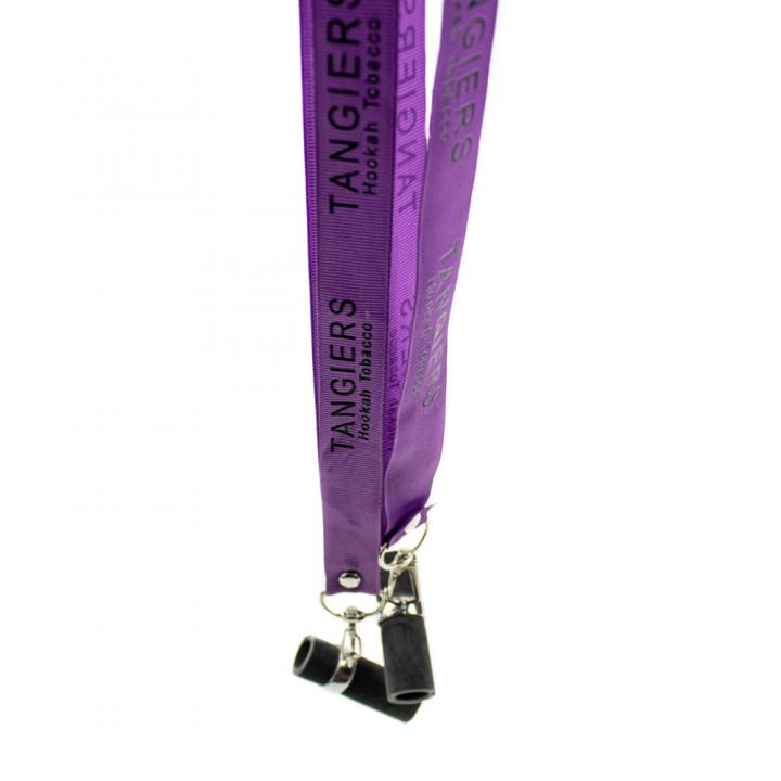 Мундштук персональный Tangiers фиолетовая лента , Деревянный ( Танжирс реплика )
