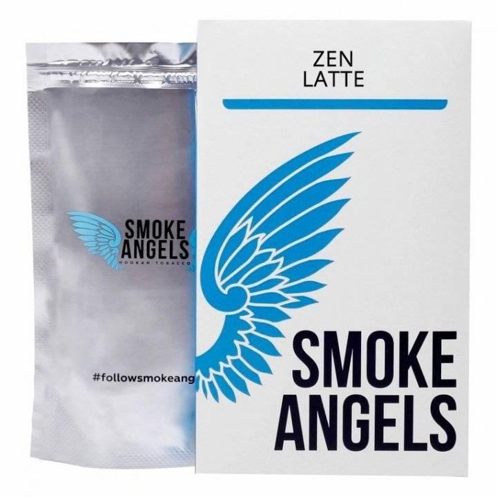 Табак Smoke Angels Zen Latte 100 г ( Табак Ангелы Дыма Японский чай  )