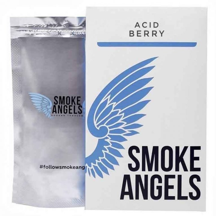 Табак Smoke Angels Acid Berry 100г ( Табак  Ангелы Дыма Малина   )