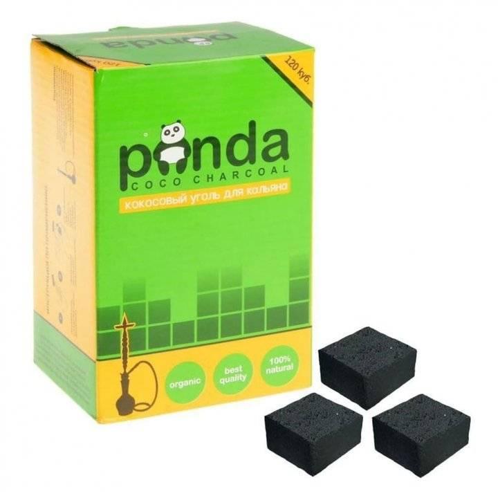 Уголь Панда зеленая Флэт 120шт
